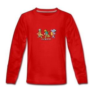 BEACH BUDDIES - Teenagers' Premium Longsleeve Shirt
