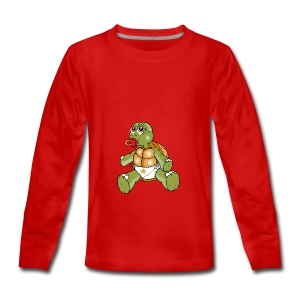 TURTLE TODDLER - Teenagers' Premium Longsleeve Shirt