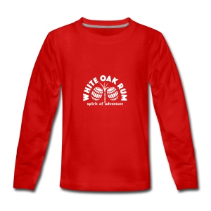 White Oak Rum - Teenagers' Premium Longsleeve Shirt