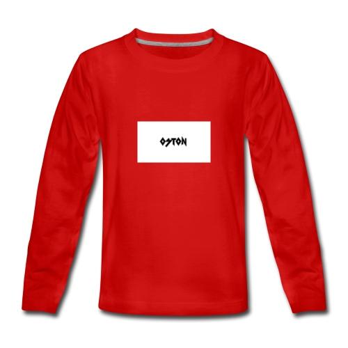 OSTON - Teenager Premium Langarmshirt