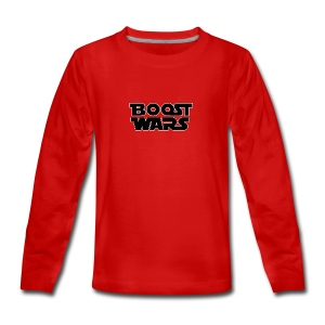 BOOST WARS - Teenager Premium Langarmshirt