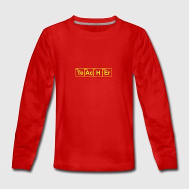 professeur de chimie - T-shirt manches longues Premium Ado