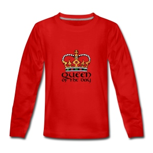 Queen of the day - Teenager Premium Langarmshirt
