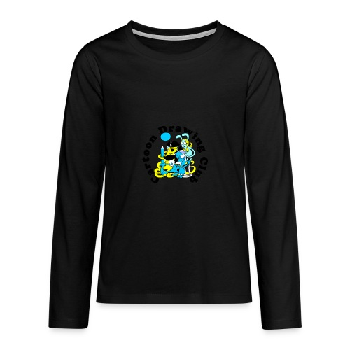 Cartoon Drawing Club - Teenagers' Premium Longsleeve Shirt
