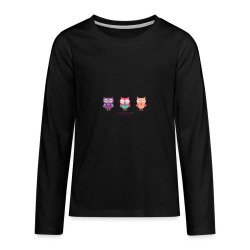 Dans les yeux de Valentine - T-shirt manches longues Premium Ado