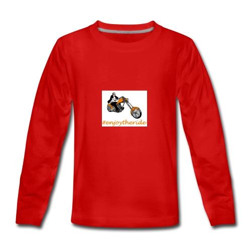 enjoytheride - T-shirt manches longues Premium Ado