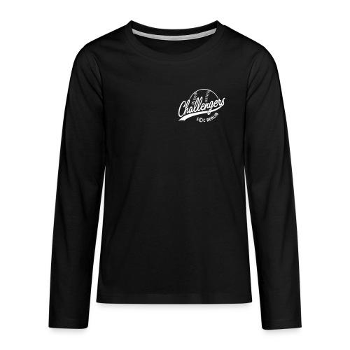 Challengers Logo - Teenager Premium Langarmshirt