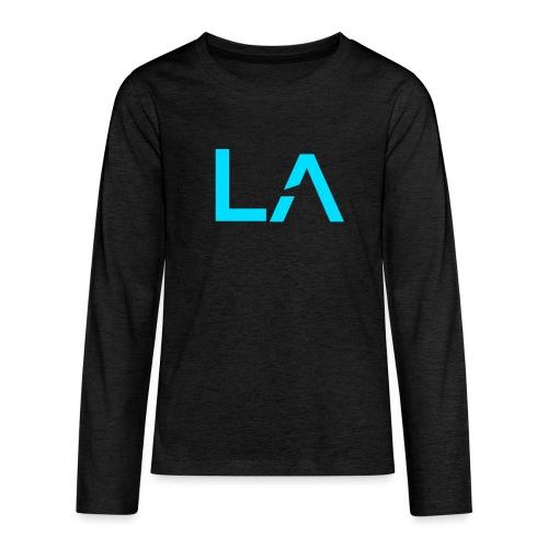 LA Team Logo - Teenagers' Premium Longsleeve Shirt