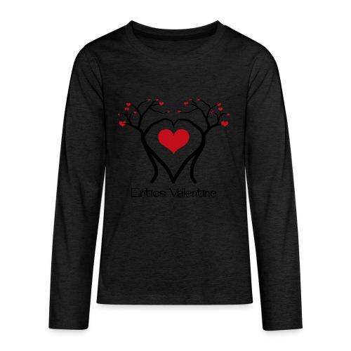 Saint Valentin des Ents - T-shirt manches longues Premium Ado