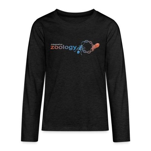 Department Logo (dark) - Teenagers' Premium Longsleeve Shirt