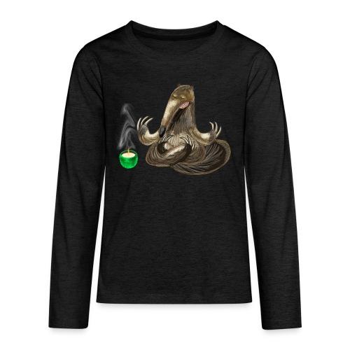 Meditating Ant eater design / print - Teenagers' Premium Longsleeve Shirt