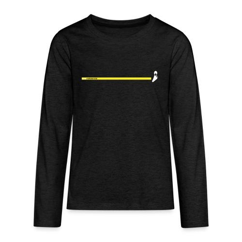 Yello line - Maglietta Premium a manica lunga per teenager