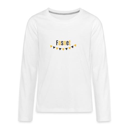 Fasnet - Teenager Premium Langarmshirt