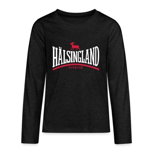 HÄLSINGLAND - Långärmad premium T-shirt tonåring