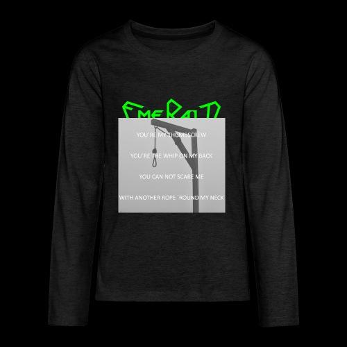 Emerald - Teenager Premium Langarmshirt