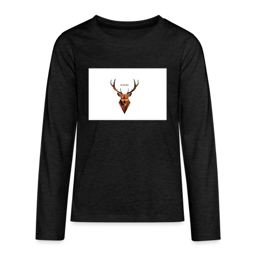 The Royal Deer - Teenagers' Premium Longsleeve Shirt