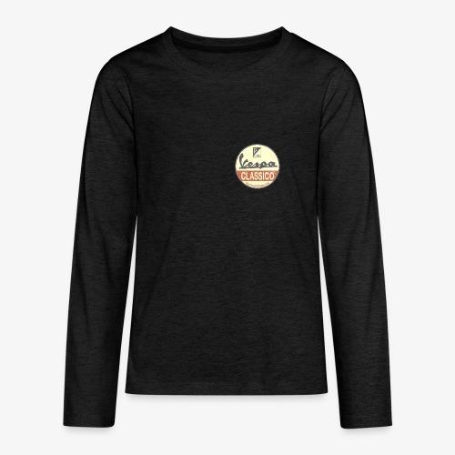 Vintage Logo - Teenager Premium Langarmshirt