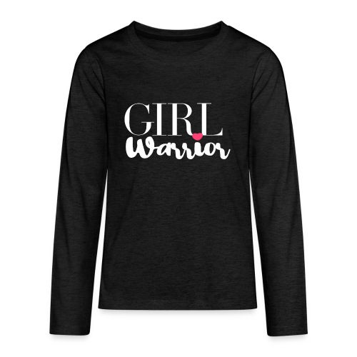 girl warrior - Teenager Premium Langarmshirt