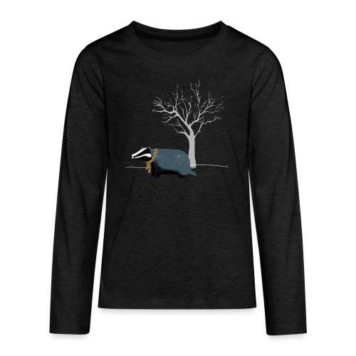 dat met das boom mooiooi irmavanosch - Teenager Premium shirt met lange mouwen