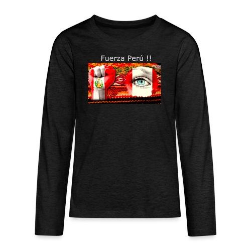 Telar Fuerza Peru I - Teenagers' Premium Longsleeve Shirt