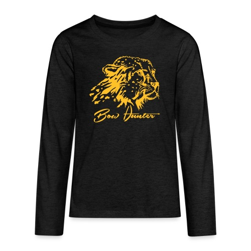 gepard bow hunter - Teenager Premium Langarmshirt