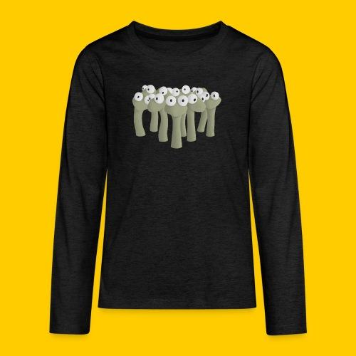 Worm gathering - Långärmad premium T-shirt tonåring