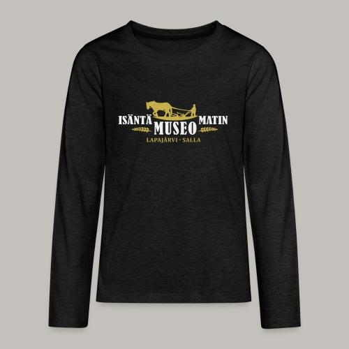 Museon retrologo - Teinien premium pitkähihainen t-paita