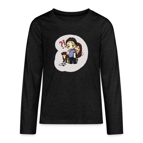 mysz?! - Koszulka Premium z długim rękawem dla nastolatków