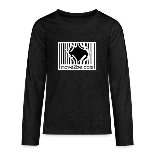 Barcode move2be Outbreak - Teenager Premium Langarmshirt