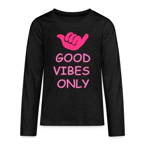 Chill-relax-be kind - Teenager Premium Langarmshirt