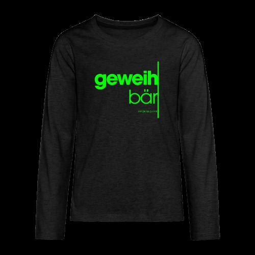 geweihbär 2019 - Teenager Premium Langarmshirt