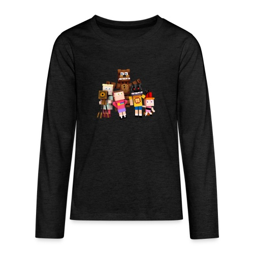 Withered Bonnie Productions - Meet The Gang - Teenagers' Premium Longsleeve Shirt
