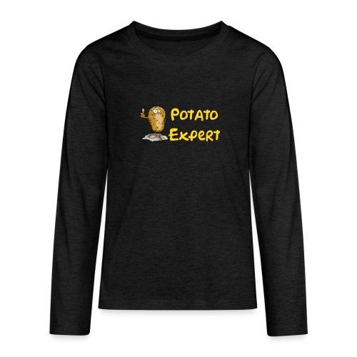 SMT potato expert - Maglietta Premium a manica lunga per teenager