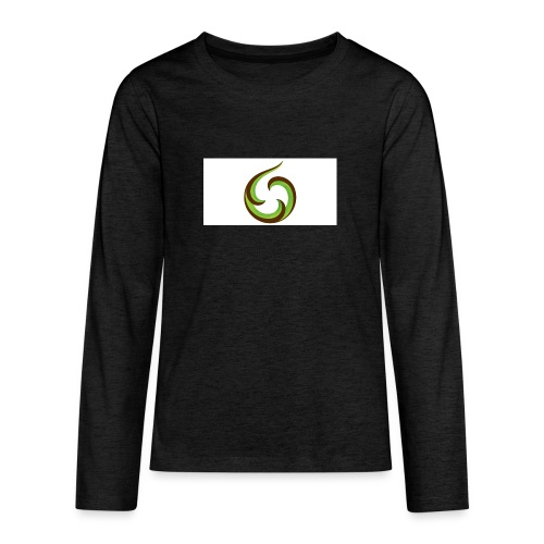 smartphone aroha - Teinien premium pitkähihainen t-paita