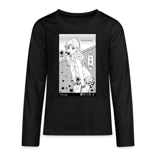 I wish you the best - Teenagers' Premium Longsleeve Shirt