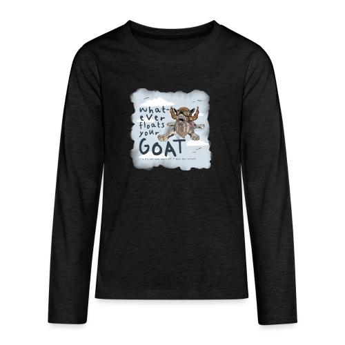#2 - Sky Dive - Teenagers' Premium Longsleeve Shirt