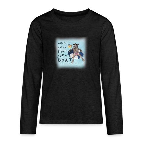 #3. Holiday - Teenagers' Premium Longsleeve Shirt