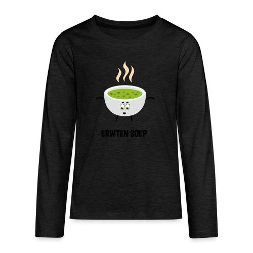 Erwten soep - Teenager Premium shirt met lange mouwen