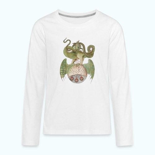 Middle Ages Dragon - Teenagers' Premium Longsleeve Shirt