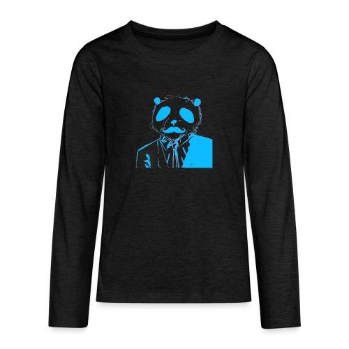 BluePanda Logo - Teenagers' Premium Longsleeve Shirt
