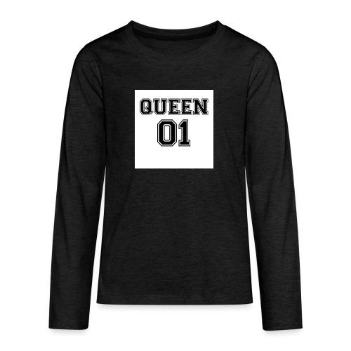 Queen 01 - T-shirt manches longues Premium Ado