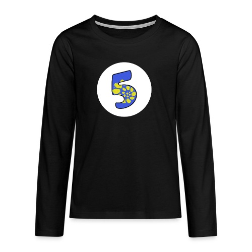 No.5 Special - Teenagers' Premium Longsleeve Shirt