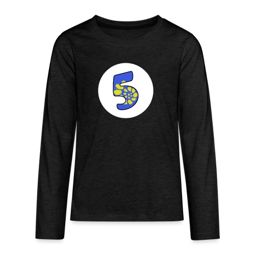 No.5 Special - Teenagers' Premium Longsleeve Shirt