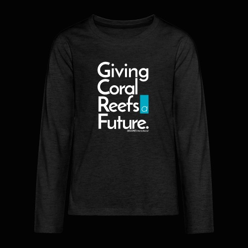 Giving Coral Reefs a Future - Teenagers' Premium Longsleeve Shirt