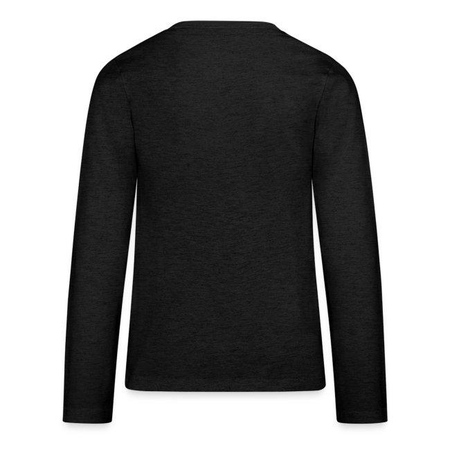 Vorschau: A Hirn wia a Nudlsieb - Teenager Premium Langarmshirt