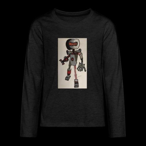 Rock OT BY TAiTO - Teinien premium pitkähihainen t-paita