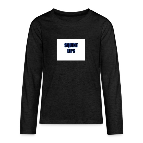 Squint Lips Merch - Teenagers' Premium Longsleeve Shirt