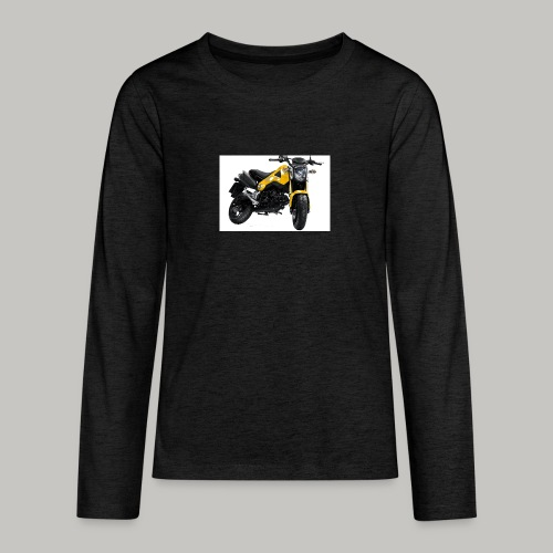 Grom Motorcycle (Monkey Bike) - Teenagers' Premium Longsleeve Shirt