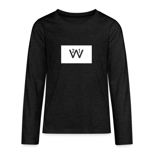 21wille Hoodie Barn - Långärmad premium T-shirt tonåring