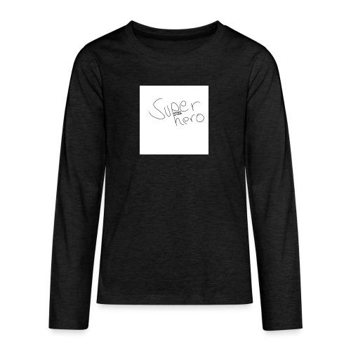 SUPERHERO - Teenager Premium Langarmshirt